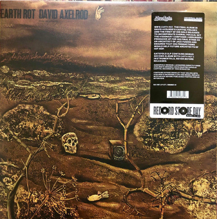 ad01c6a64c0 David Axelrod - Earth Rot (Now-Again Records) Record Store Day 2LP